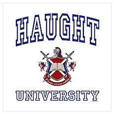 HAUGHT University Poster