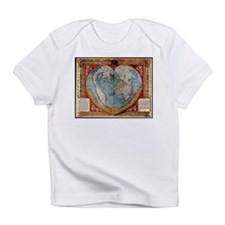 """Heart Map"" Infant T-Shirt"