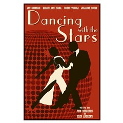 Retro Inspired DWTS Poster Posters