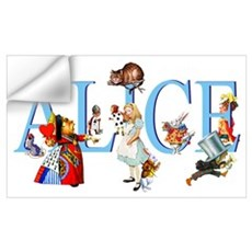 ALICE & FRIENDS Wall Decal
