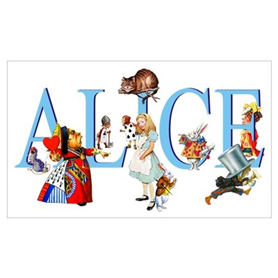 ALICE & FRIENDS Poster