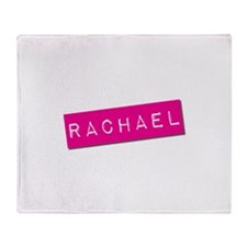 Rachael Punchtape Throw Blanket