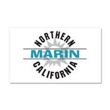 Marin California Car Magnet 20 x 12