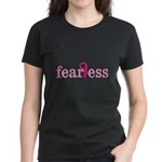 Women are Fearless Women's Dark T-Shirt
