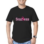 Women are Fearless Men's Fitted T-Shirt (dark)