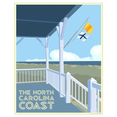 The North Carolina Coast Poster