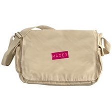 Macey Punchtape Messenger Bag