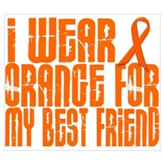 I Wear Orange For My Best Friend 16 Pr Canvas Art