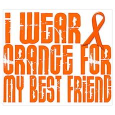 I Wear Orange For My Best Friend 16 Pr Poster