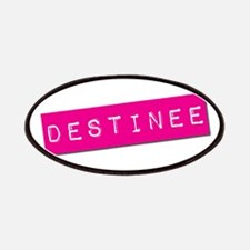 Destinee Punchtape Patches