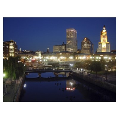 Downtown PVD Canvas Art