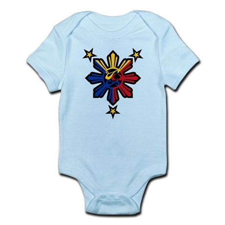 Philippine History Symbols II Infant Bodysuit