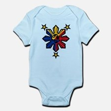 Philippine History Symbols II Infant Bodysuit