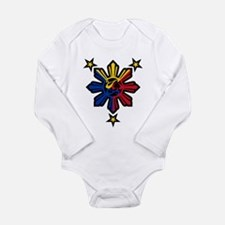 Philippine History Symbols II Long Sleeve Infant B