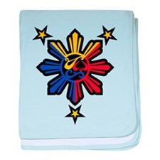 Philippine History Symbols II baby blanket