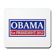 Obama for President 2012 Mousepad