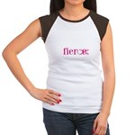 Women are Fierce Women's Cap Sleeve T-Shirt