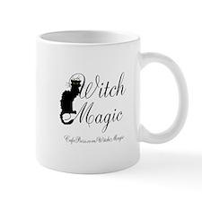 Witch Magic, black cat Mug