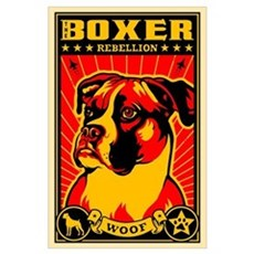 BOXER Rebellion Large Propaganda Poster