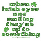 Funny irish Wrapped Canvas Art