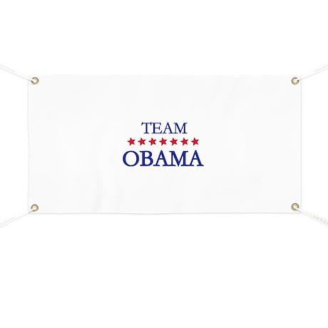 Team Obama Banner