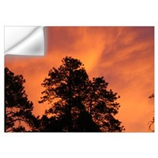 Fire in the Sky Wall Decal