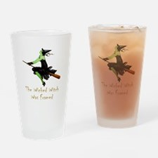 The Wicked Witch Was Framed Drinking Glass