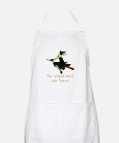 The Wicked Witch Was Framed Apron