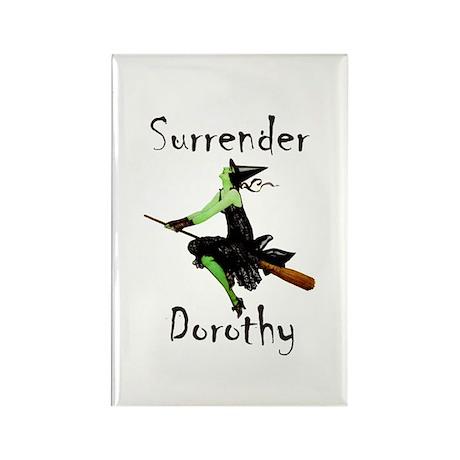Surrender Dorothy Rectangle Magnet