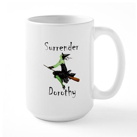 Surrender Dorothy Large Mug