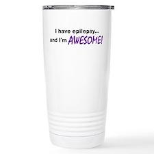 Awesome With Epilepsy Travel Mug