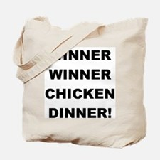 WINNER Tote Bag