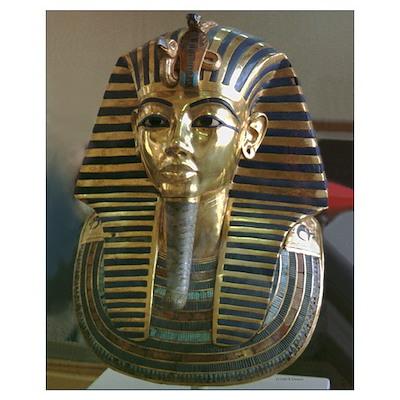 King Tut's Mask Poster