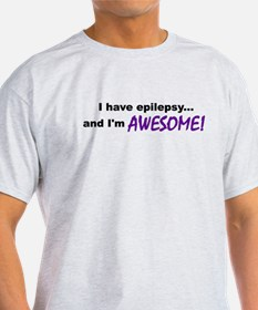 Awesome With Epilepsy T-Shirt
