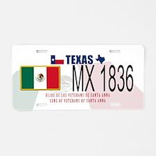 Texas P&P Aluminum License Plate