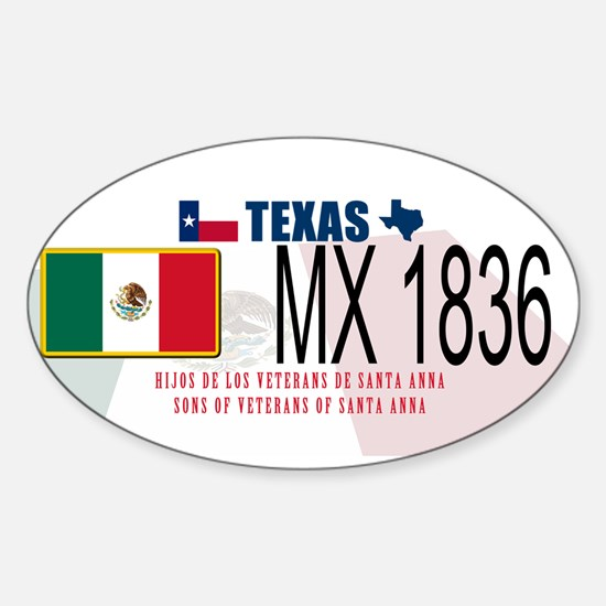 Texas P&P Sticker (Oval)
