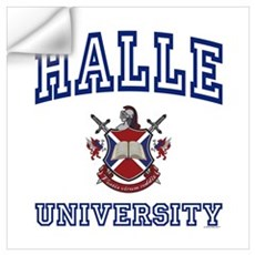HALLE University Wall Decal