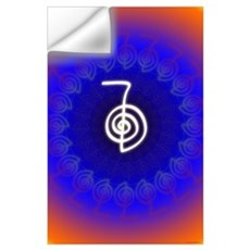 Cho Ku Rei Reiki Power Symbol Mandala Wall Decal