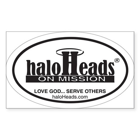 HaloHeads Sticker (Rectangle)