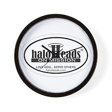 HaloHeads Wall Clock