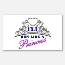 Run Like A Princess Decal