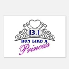 Run Like A Princess Postcards (Package of 8)
