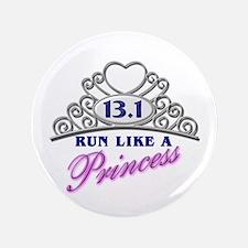 "Run Like A Princess 3.5"" Button (100 pack)"