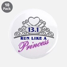 "Run Like A Princess 3.5"" Button (10 pack)"