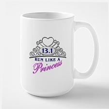 Run Like A Princess Large Mug