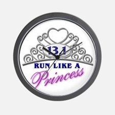 Run Like A Princess Wall Clock