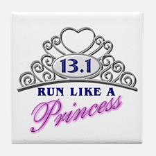 Run Like A Princess Tile Coaster