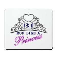 Run Like A Princess Mousepad