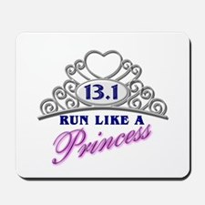 Run Like A Princess Mousepad