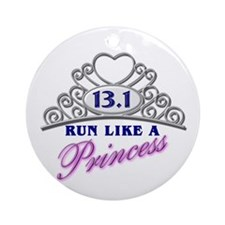 Run Like A Princess Ornament (Round)